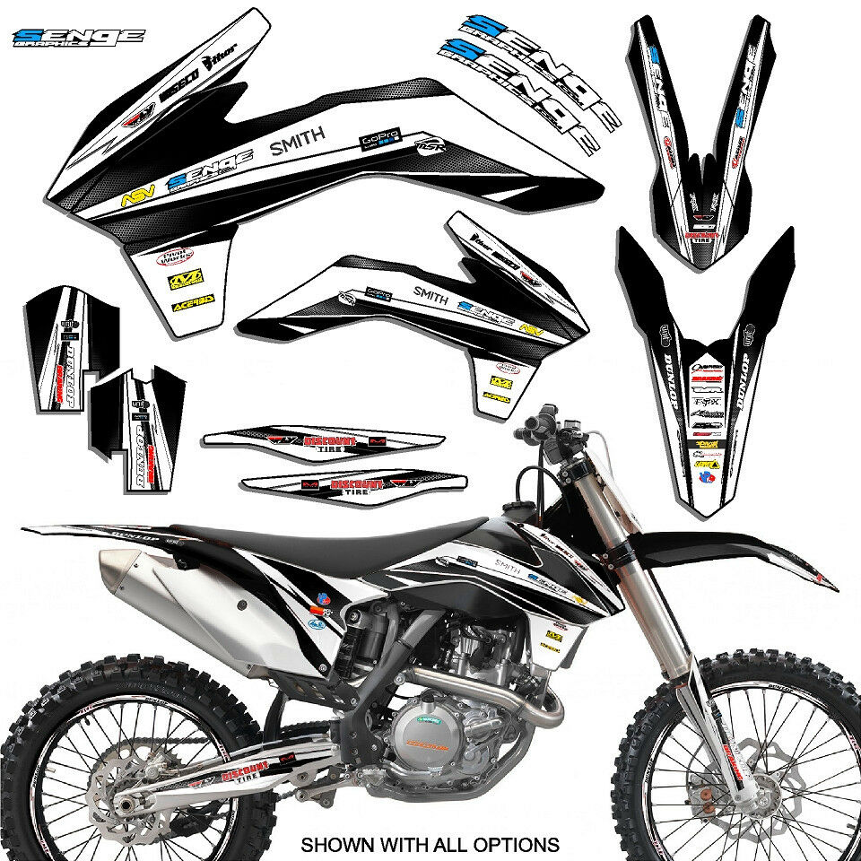 2011 2012 KTM SXF SX-F 250 350 450 4-STROKE GRAPHICS KIT