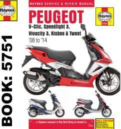 peugeot v clic speedfight 3 vivacity 3 2008 14 haynes workshop manual ebay [ 1000 x 1000 Pixel ]