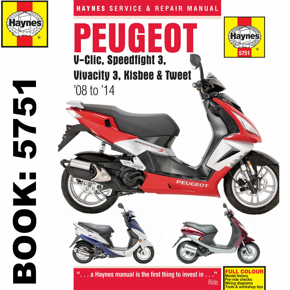 medium resolution of peugeot v clic speedfight 3 vivacity 3 2008 14 haynes workshop manual ebay