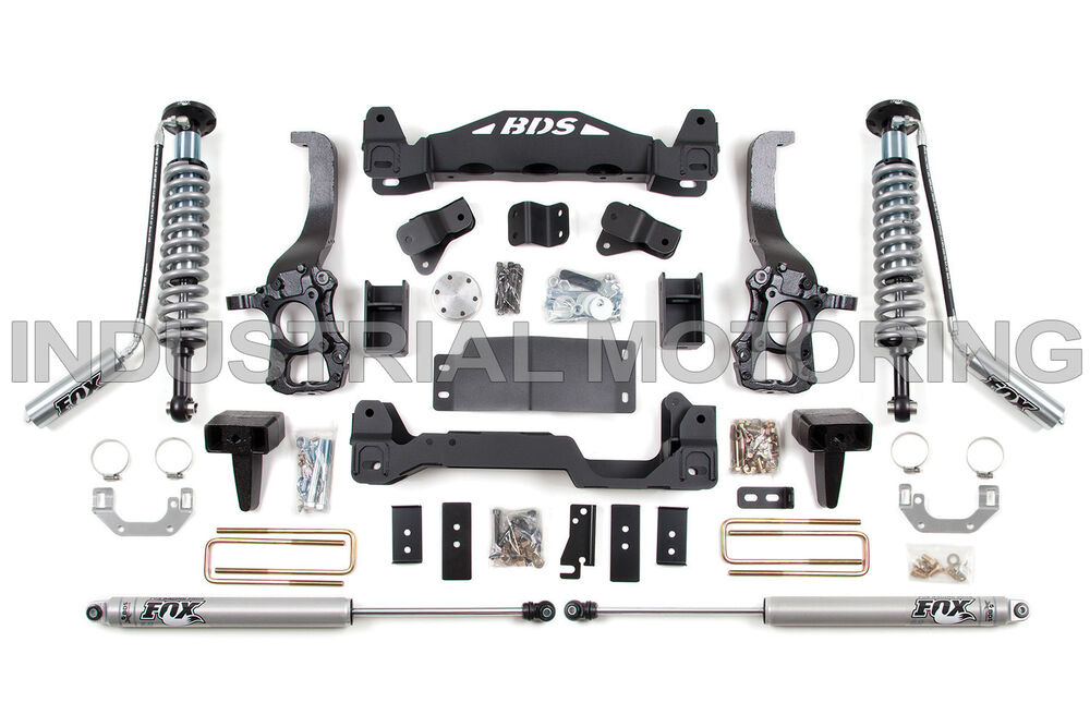 BDS SUSPENSION 2009-2013 FORD F-150 4WD 6 INCH COIL-OVER