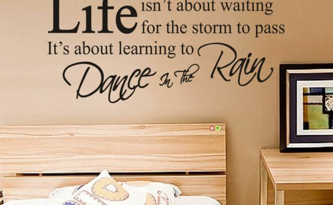 Removable Art Vinyl Poetry Quotes Diy Pvc Wall Sticker