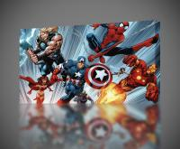 Marvel Avengers Spiderman CANVAS PRINT Wall Art Decor ...