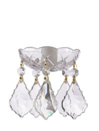 Asfour Crystal 30% Lead Crystal Bobeche Lamp Chandelier