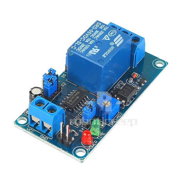 Power On Time Delay Relay Circuit In Addition On Delay Timer Circuit