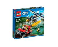 60070 WATER PLANE CHASE lego city town police NEW airplane ...