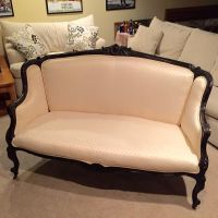 Antique French Louis XV or XVI Sofa Couch Settee Vintage