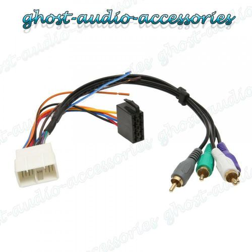 small resolution of toyota supra active amplified car stereo radio iso wiring harness adaptor ty 101