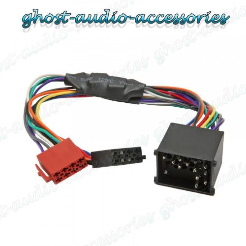 small resolution of bmw x5 active car stereo radio iso wiring harness adaptor loom bm 102