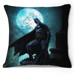 How To Cover A Sofa Cushion Country Sofas And Loveseats Dc Comics Batman In Night Moon Throw Pillow Case ...