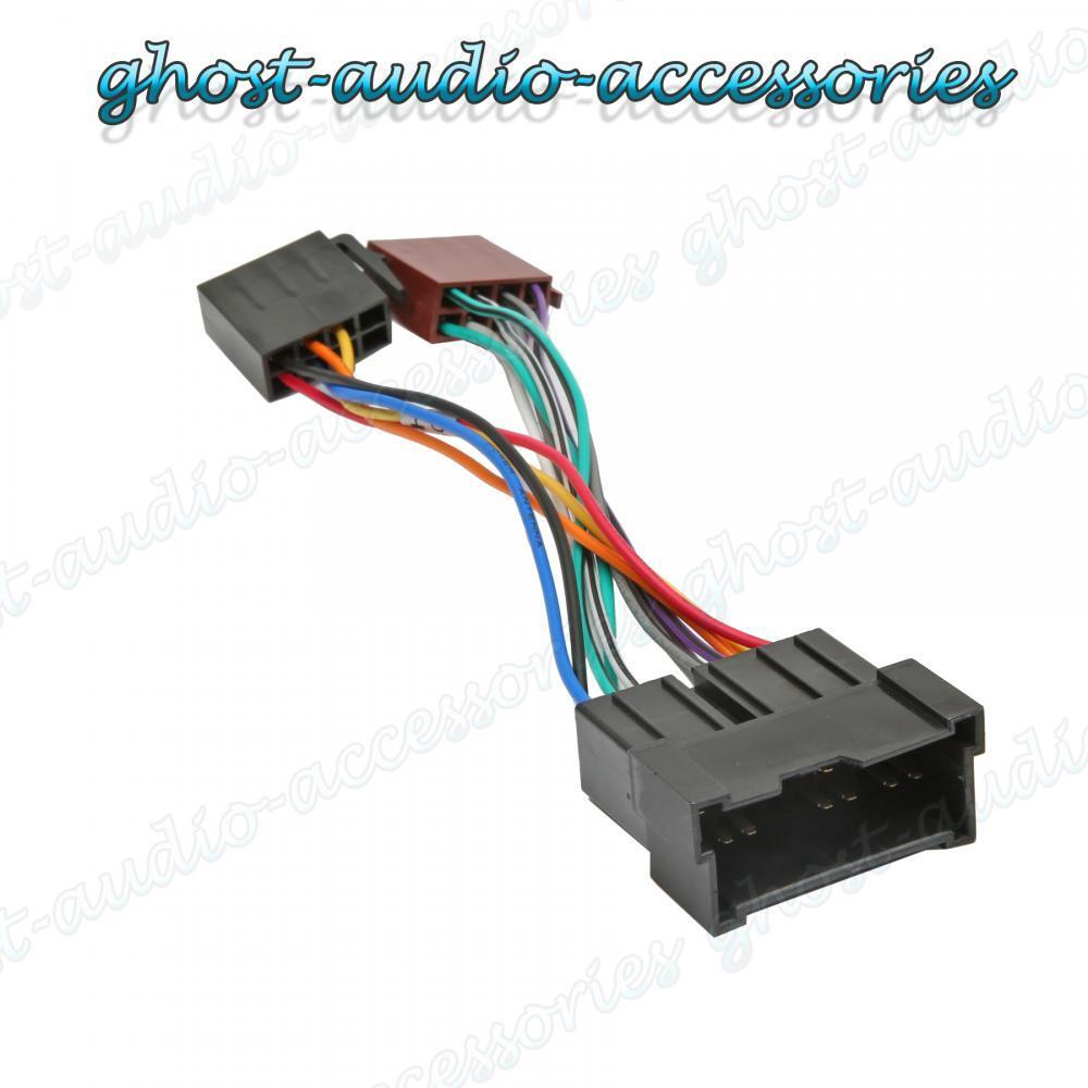 hight resolution of car stereo radio iso wiring harness adaptor loom for hyundai getz hy 100