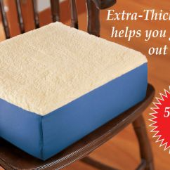 Office Chair Seat Cushion City Oil Extra Thick Riser 5