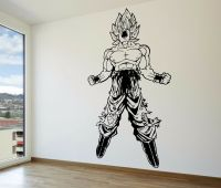 Goku SSJ Super Saiyan Vinyl Wall Decal - Dragon Ball Z ...