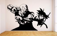 Goku Vs Piccolo Vinyl Wall Decal - Dragon Ball, DBZ Anime ...