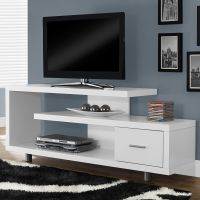 TV Entertainment Center Modern Stand Contemporary Cabinet ...