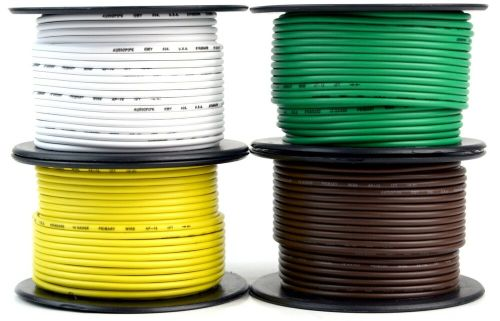 small resolution of details about 4 way flexible cord trailer wire harness light cable led 18 gauge 100ft 4 colors