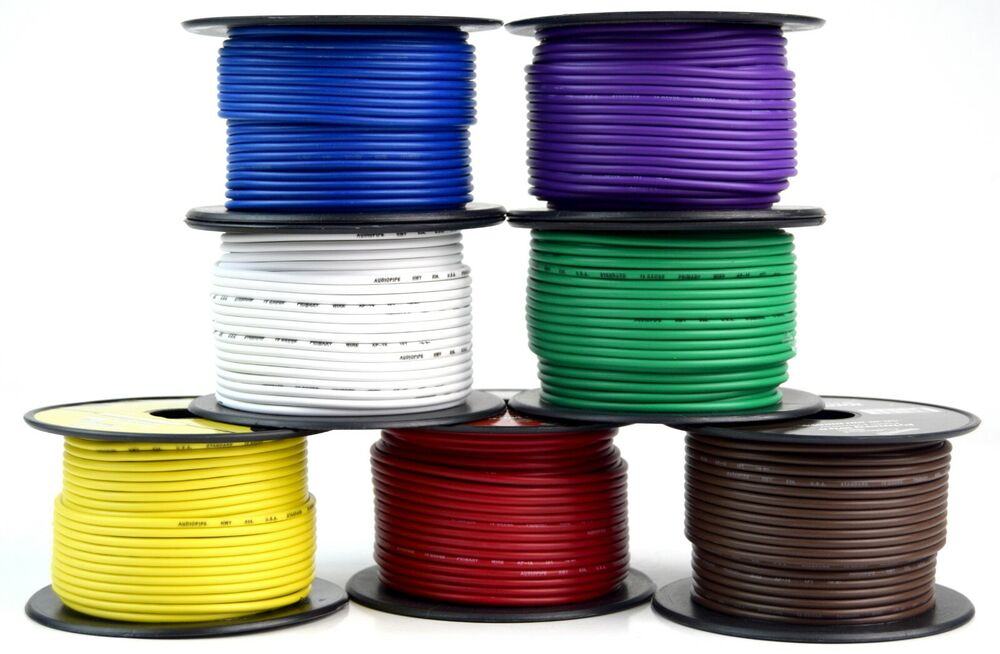 medium resolution of details about 7 way flexible cord trailer wire harness light cable led 18 gauge 100ft 7 colors
