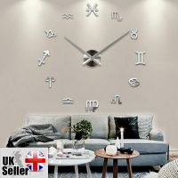 Modern Large Wall Clock 3D DIY Home Decoration Living Room