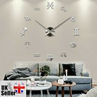 Modern Large Wall Clock 3D DIY Home Decoration Living Room ...