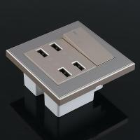 New 4-Port USB Wall Socket Charger AC Power Receptacle ...