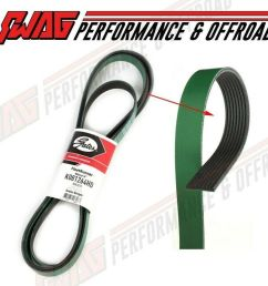 details about gates serpentine belt for 03 12 dodge ram truck 5 9 6 7 cummins 8 groove belt [ 1000 x 868 Pixel ]