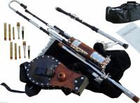 Irish Uilleann Pipes Half Set Blackwood Bagpipes ...