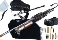 Irish Uilleann Pipes Full Set Blackwood Bagpipes Made By ...