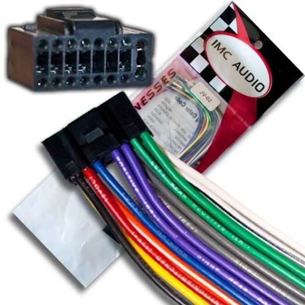hight resolution of details about wire harness for jvc kw xr610 kwxr610 pay today ships today
