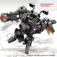 3-in-1 MOC Transformable Armed Mech combat Suit Armor pack ...