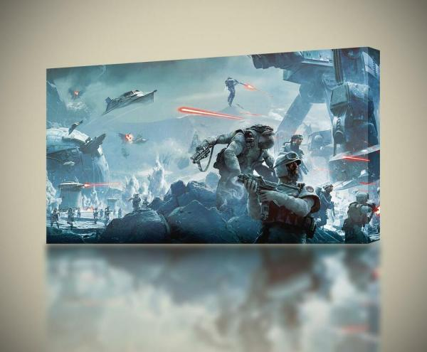 Star Wars Battlefront Canvas Print Wall Art Home Decor Giclee 4 Sizes Ca114