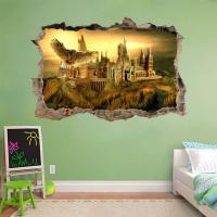 Hogwarts Harry Potter Smashed Wall Decal Removable Wall