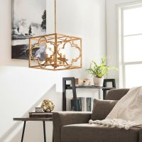Contemporary 4-light Chandelier Dining Living Room Foyer ...