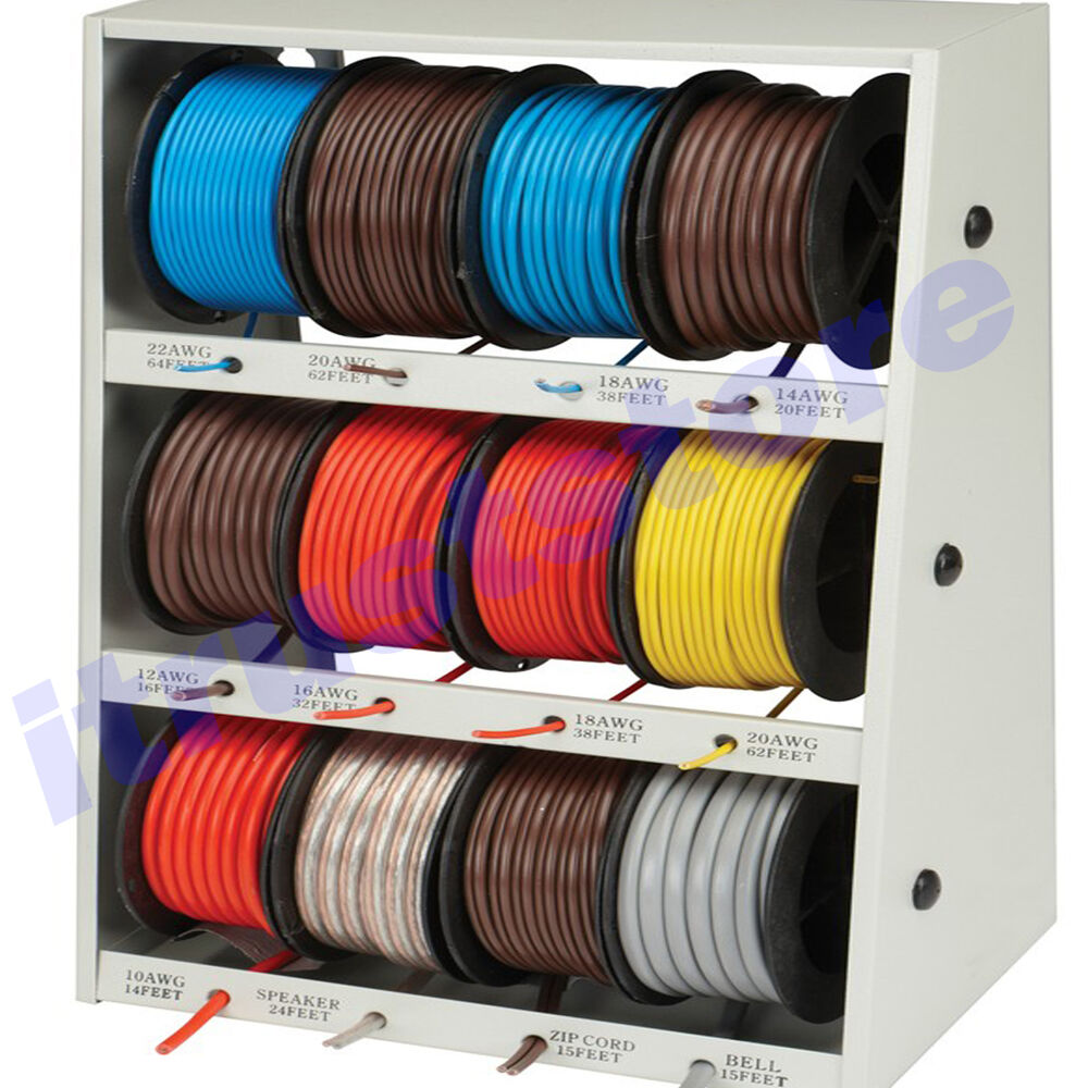 hight resolution of details about assorted auto home electric electrical copper wire assortment rolls wiring spool