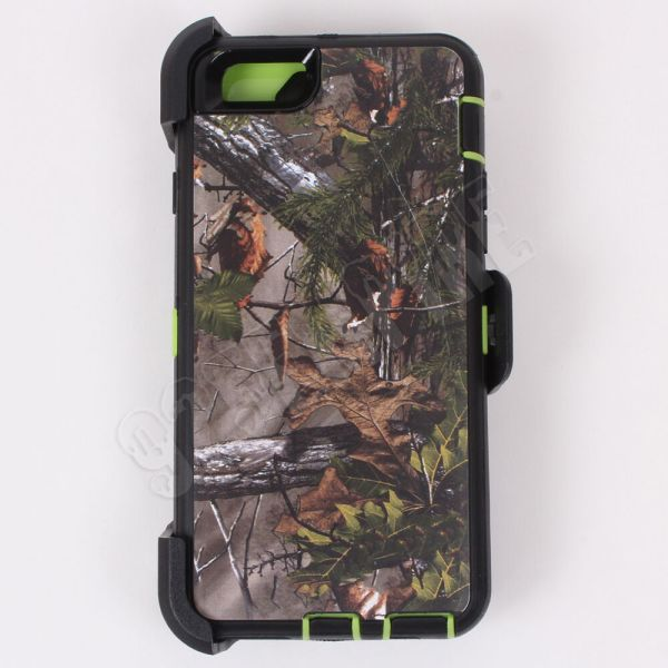 Iphone 6 6s Green Tree Camo Case Cover Belt Clip Fits