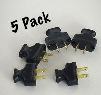 Vintage Lamp Plug - 5 PACK BLACK Antique Style Electrical ...