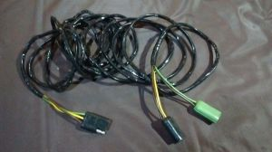 Rear tail light lamp Wiring Harness V8 65 66 Ford F100