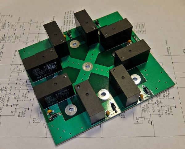 8 Position Antenna Switch - Year of Clean Water