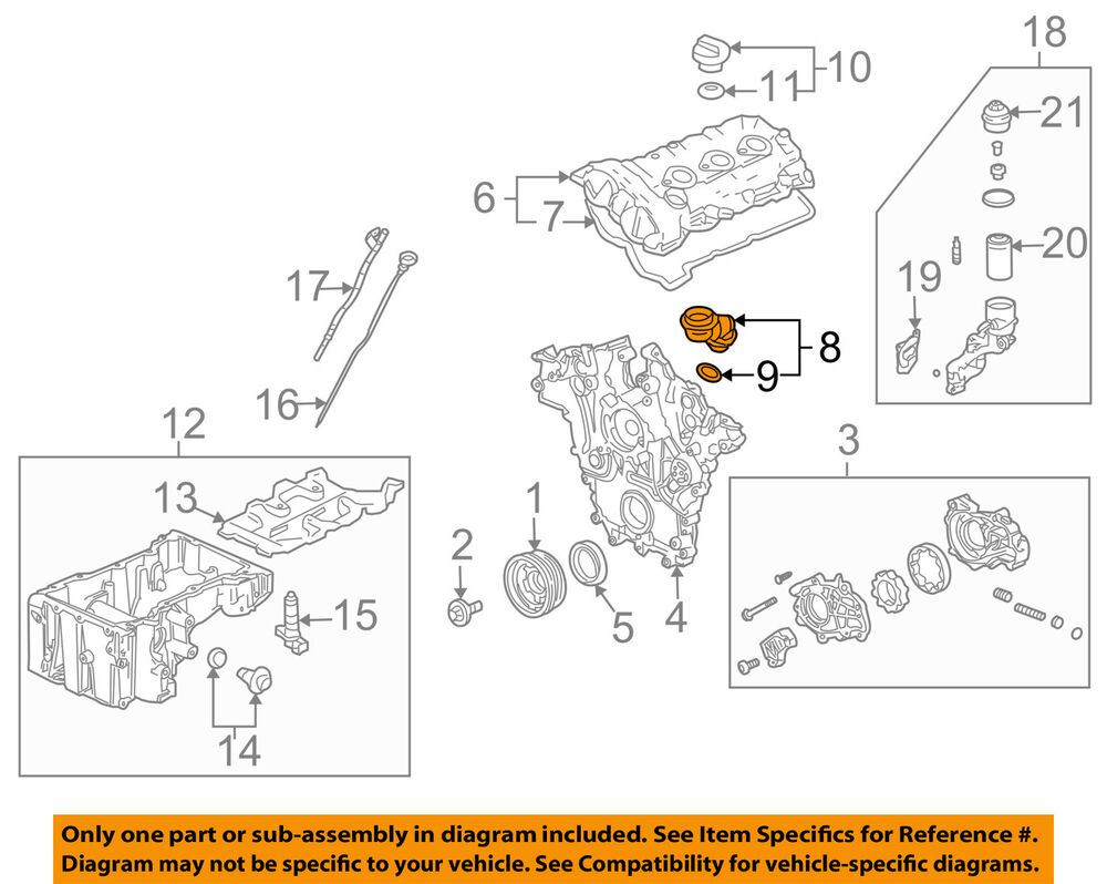 medium resolution of details about cadillac gm oem 04 07 cts 3 6l v6 engine oil filler tube 12597946