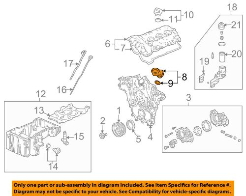 small resolution of details about cadillac gm oem 04 07 cts 3 6l v6 engine oil filler tube 12597946