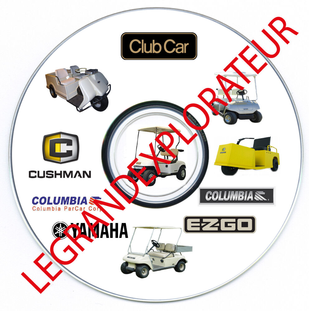 hight resolution of details about ultimate club car columbia parcar golf car cart workshop service manual on dvd