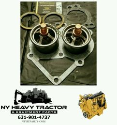 caterpillar new replacement thermostat kit c 15 c15 247 7133 2477133 cat 6nz mbn [ 1000 x 1000 Pixel ]