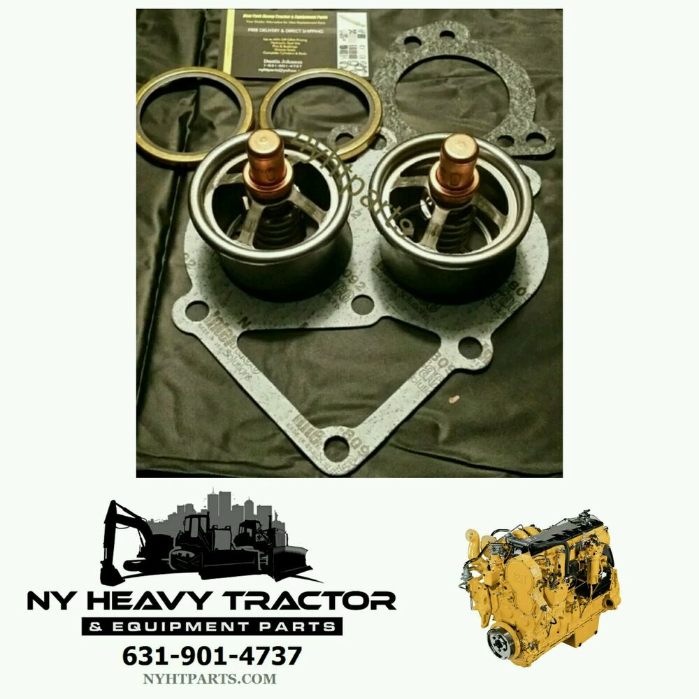 hight resolution of caterpillar new replacement thermostat kit c 15 c15 247 7133 2477133 cat 6nz mbn