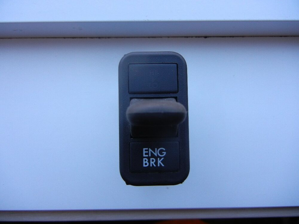 Where Is The Brake Light Switch For A 2006 Freightliner M2