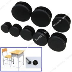 Table And Chair Covers Ebay Panton Bachelor 4pcs Round Plastic Leg Glide Cap Plug Tubing Pipe Insert Floor Protector |