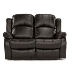 Simmons Sofa And Loveseat Natuzzi Leather Sofas For Sale Recliner 2-seater Love Seat Brown Over Stuffed Bonded ...