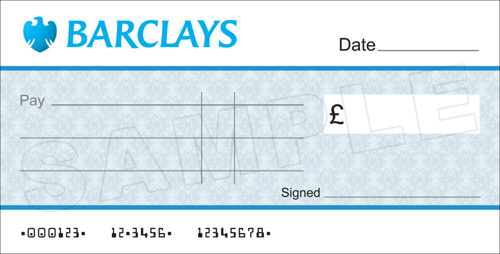dummy cheque template free