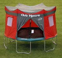 Trampoline Tent Cover Clubhouse Castle Play Tarp Hideout ...