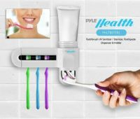 Pure Clean Sanitizing Toothbrush Holder UV Sterilizer and ...