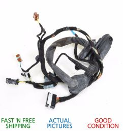 details about 2002 2005 bmw 745i e65 rear right side door wire wiring harness oem [ 1000 x 1000 Pixel ]