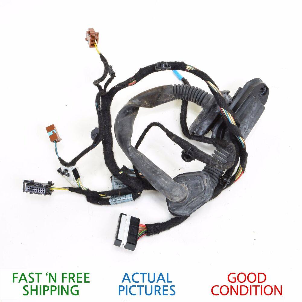 hight resolution of details about 2002 2005 bmw 745i e65 rear right side door wire wiring harness oem