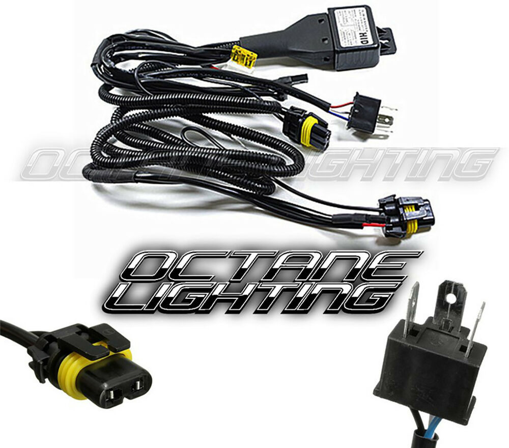 hight resolution of 2 headlight h4 9003 hid headlamp light bulb socket plug 9007 bulb wiring h1 bulb wiring
